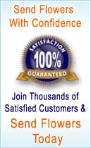 Send Flowers with Confidence. Join Thousands of Satisfied Customers & send flowers today. Red Rose Florist offers a 100% satisfaction guarantee.